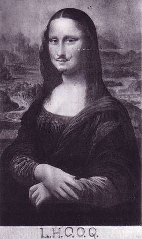 Duchamp's Mona Lisa
