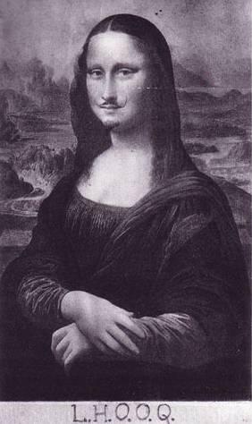 Duchamp's Mona Lisa